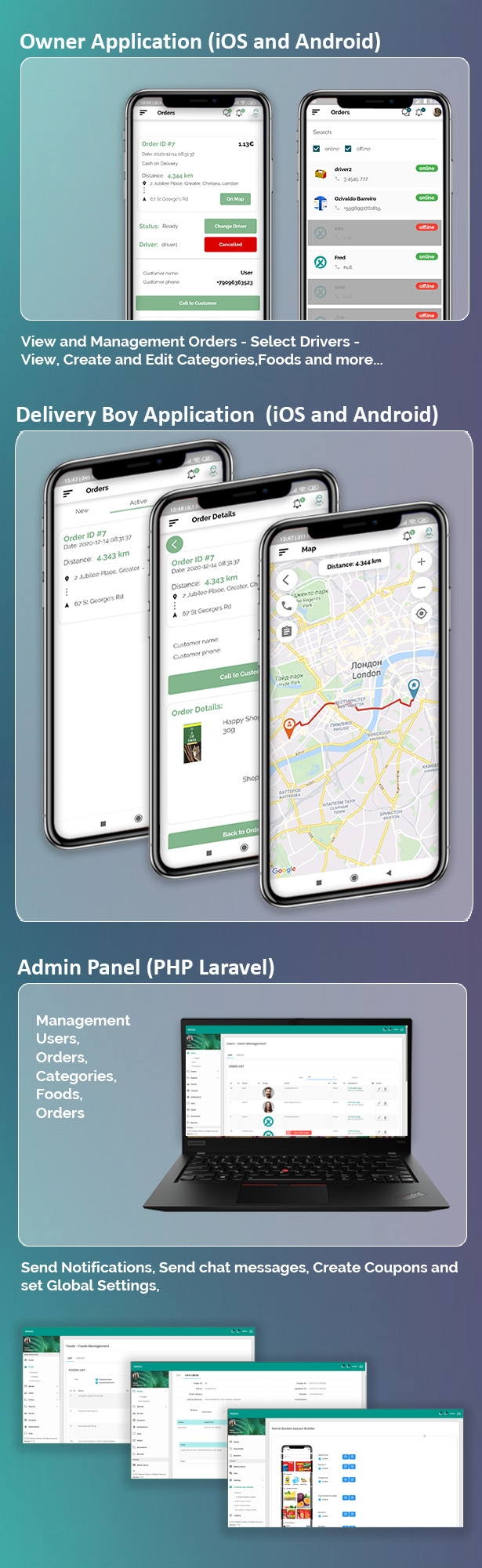 Single Market Grocery/Food/Pharmacy (Android+iOS+Admin Panel) Full App Solution with Web Site - 3