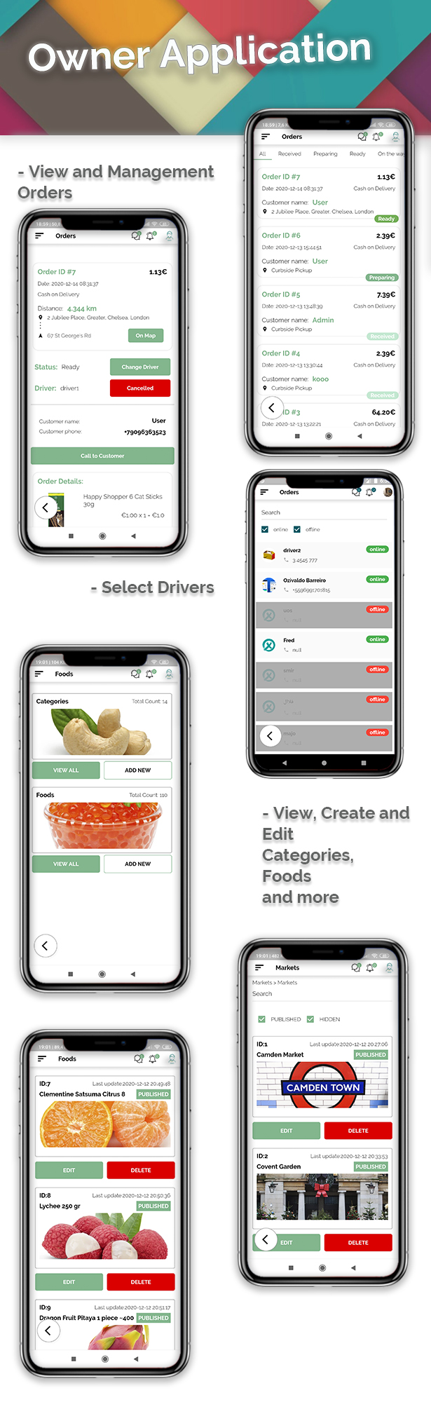 Grocery, Food, Pharmacy, Store Delivery Mobile App with Admin Panel - 3